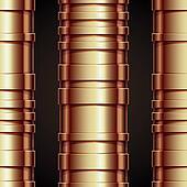 Copper pipeline seamless pattern.