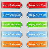 Happy new year and Christmas tabs