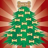 Christmas Tree for Good Dogs