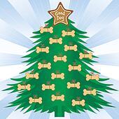 Good Dog Christmas Tree