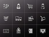 Metalic Icons - Logistic