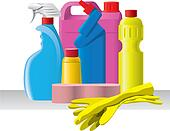 Group of detergents and cleaners