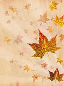 retro beige autumn background