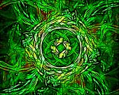 Green Nature Abstract Vine Image