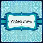 Frozen vintage frame