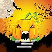 Pumpkin Monster House