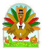 thanksgiving mr turkey