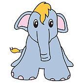 elephant cute animal