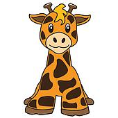 giraffe cute animal