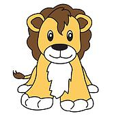 lion cute animal