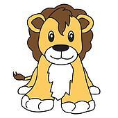 lion cute animal