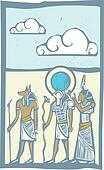 Hieroglyph Clouds