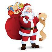 Santa Claus Clip Art - Royalty Free - GoGraph