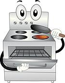 Oven Mascot