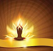 lotus flower -fire and yoga
