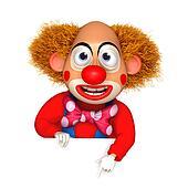 cartoon clown