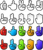Hand Icons