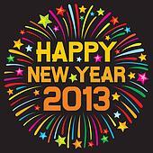 happy new year 2013 firework