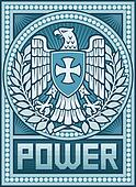 Eagle poster - Symbol of Power