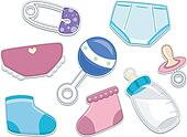 Baby Products Stickers
