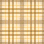 yellow brown checked fabric seamles