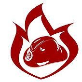 Fire Helmet Clip Art - Royalty Free - GoGraph