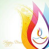 creative diwali background