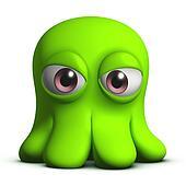 sad octopus