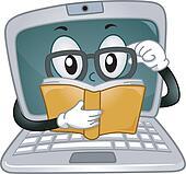 Laptop Mascot