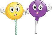 Lollipop Mascot