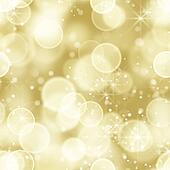 seamless gold bokeh lights back