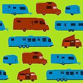 Seamless Caravan Pattern