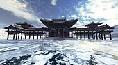 Zen buddhism temple