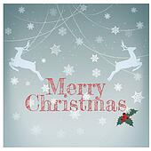 Stylish retro Christmas card