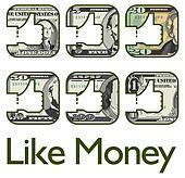 Money like icons