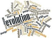 Word cloud for Evolution