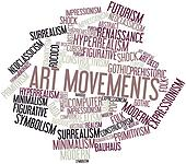 Word cloud for Art Movements