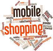 Word cloud for Mobile Shopping