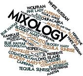 Word cloud for Mixology