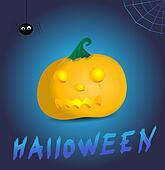 scary halloween design illustration