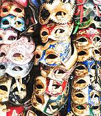 Carnival colorful masks