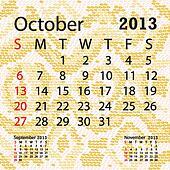 october 2013 calendar albino snake skin.