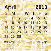april 2013 calendar albino snake skin