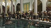 Toon Viking Horde in the Bath House