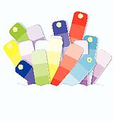Swatches display vector