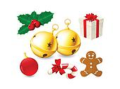 Jingle Bells and Christmas decor