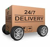 24/7 delivery