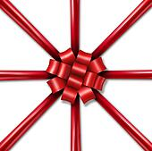 Star Burst Holiday Ribbon