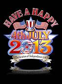 4th July 2013 Hat graphic b