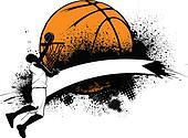 Basketball Grunge Banner